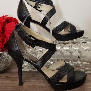 Michael Kors Shoes Heels Sandals Crisscross Straps